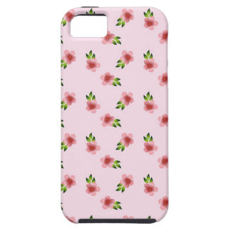Floral Pink iPhone 5 Cover