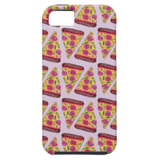 floral pizza iPhone 5 cases
