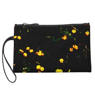 'Floral Points' mini clutch Wristlet Clutches