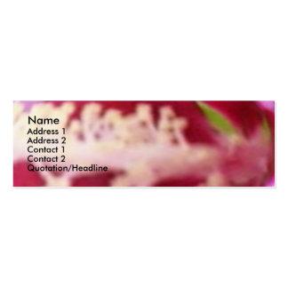 Floral Pollen Business Card Template