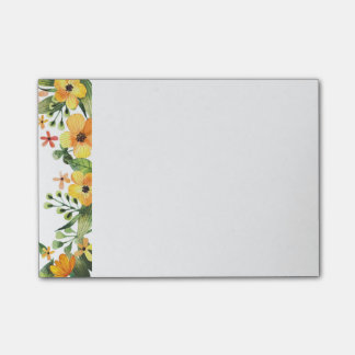 Floral Post-it-Notes Post-it® Notes