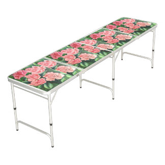 FLORAL POSTCARD BEER PONG TABLE