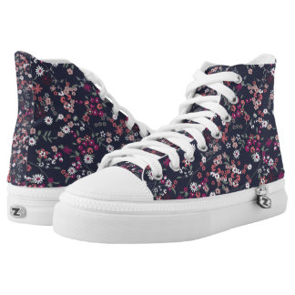 FLORAL PRINT HIGH TOP