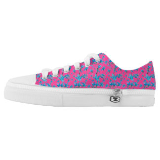 Floral Print Low Top Shoes Printed Shoes