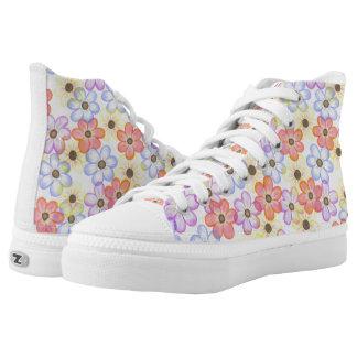Floral Print Shoes