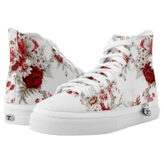 Floral Printed Fancifuls Printed Shoes