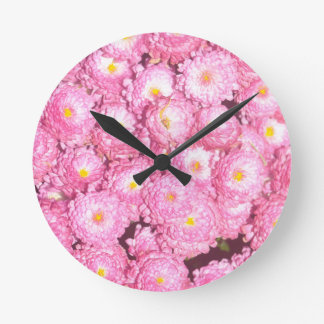 Floral products round clock