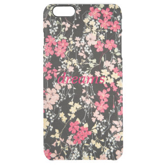 floral puts clear iPhone 6 plus case