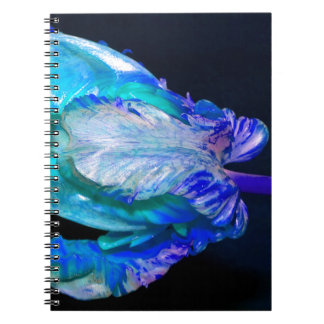 Floral quietly Life with Tulip Spiral Notebook