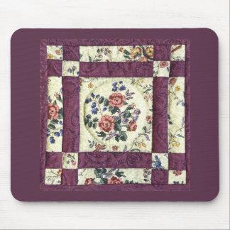 Floral Quilt Mousepad