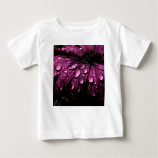 floral rain drops art design baby T-Shirt