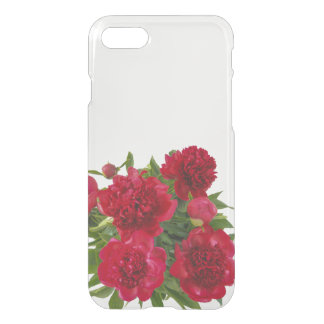 Floral Red Peonies iPhone 7 Case