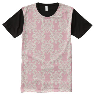 Floral retro damask All-Over print T-Shirt