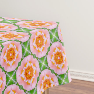 floral retro pattern tablecloth