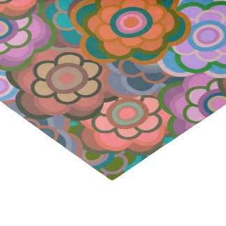 Floral Riot Earth Lilac Pattern Tissue Tissue Paper
