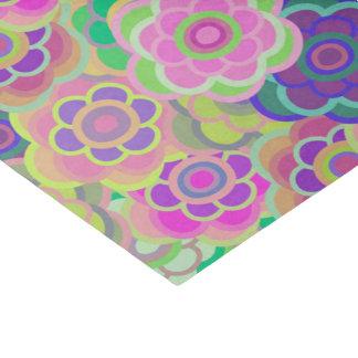 Floral Riot Pink Pattern Tissue Tissue Paper