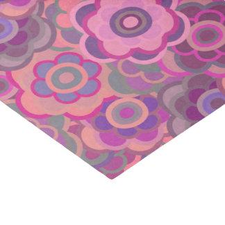 Floral Riot Pink Wash Pattern Tissue Tissue Paper