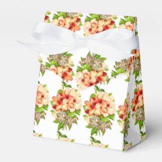 Floral Romantic Wedding Favors Customizable Favour Box