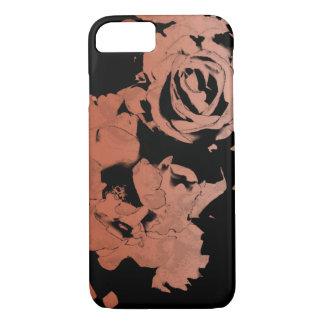 Floral Rose Gold iPhone Case