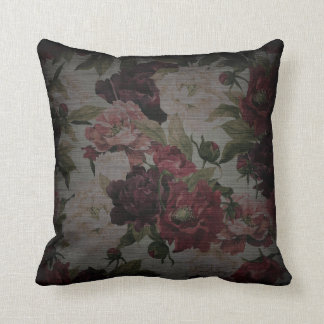Floral Rose Pattern Cushion
