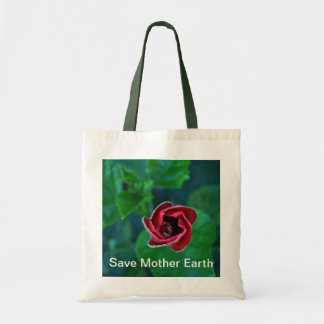 "Floral ""Save Mother Earth"" Go Green"