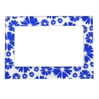 floral seamless pattern magnetic frame