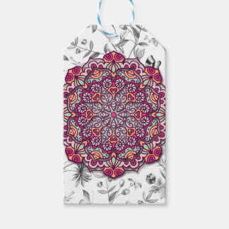 Floral Send it Gift Tags