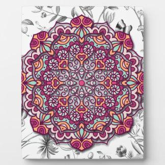 Floral Send it Plaque