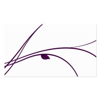 Floral Series - 02 - Violet Business Card Templates