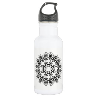 Floral Silhouette 532 Ml Water Bottle