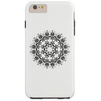 Floral Silhouette Tough iPhone 6 Plus Case