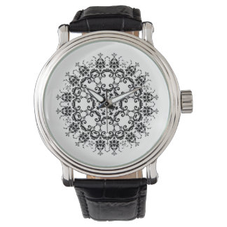 Floral Silhouette Watch