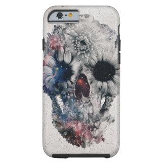 Floral Skull 2 Tough iPhone 6 Case