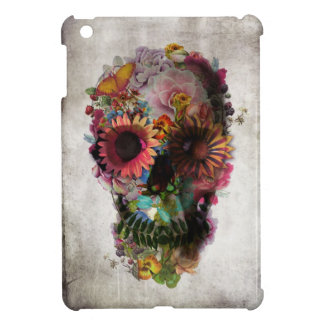 Floral Skull Case For The iPad Mini