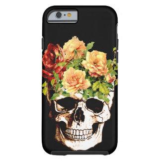 FLORAL SKULL,Skull,skulls, Tough iPhone 6 Case