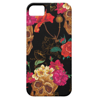 floral Skulls Barely There iPhone 5 Case