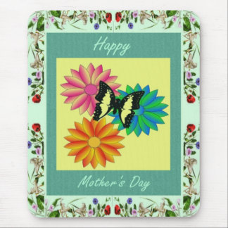 Floral Smell Mother's Day Mousepad