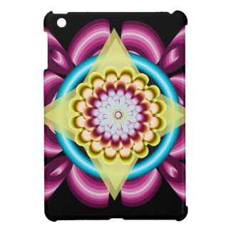 Floral spins iPad mini cover