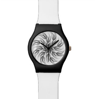 FLORAL  | spiro black flower Wristwatches