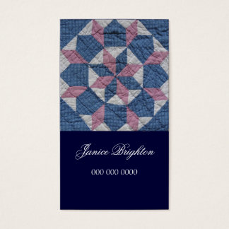 Floral Star Business Card
