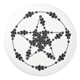 Floral Star Knob