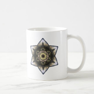 Floral Star of David Coffee Mug