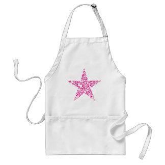 floral star standard apron