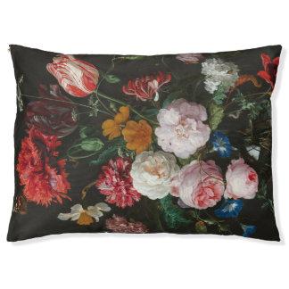 Floral Still Life Dog Bed