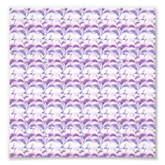 Floral Stripes Pattern Photo