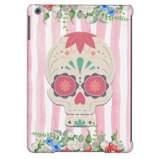 Floral Sugar Skull Case Case For iPad Air