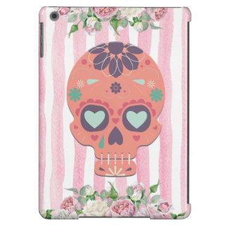 Floral Sugar Skull Case Case For iPad Air