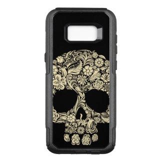 Floral Sugar Skull OtterBox Commuter Samsung Galaxy S8+ Case