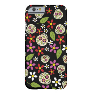 Floral Sugar Skulls iPhone 6 Case