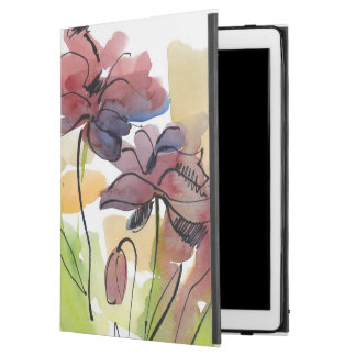 Floral summer design with hand-painted abstract 2
